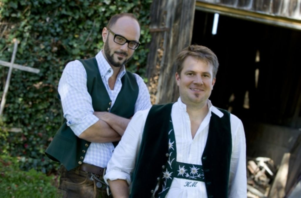 Kluftingers Väter: die Autoren  Michael Kobr (li.) und Volker Klüpfel Foto: Droemer Knaur