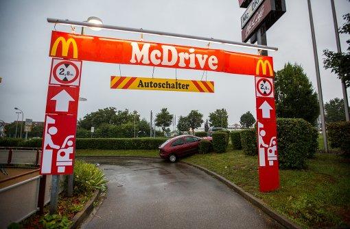 Zu schnell durch den McDrive