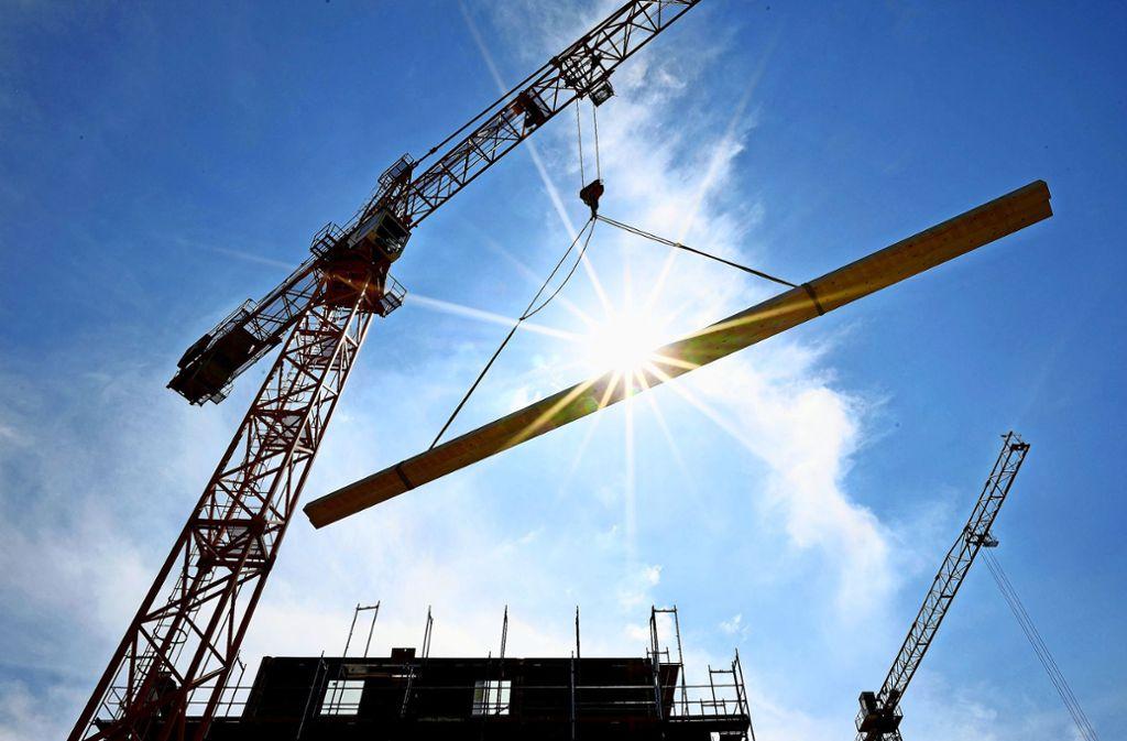 Wann die ersten Baukräne anrücken, steht noch nicht fest Foto: dpa/Britta Pedersen