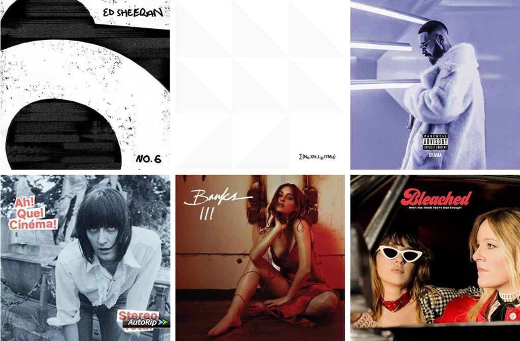 Einige der neuen Alben aus dieser Woche Foto: Labels