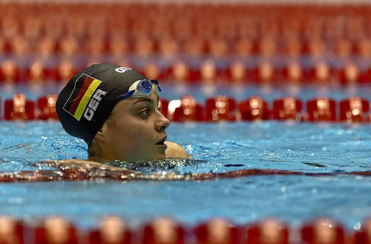 Kim Herkle geht von Montag an  bei den Europameisterschaften in Budapest ins Wasser. Foto: /Privat