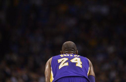 Letzter Vorhang für die Kobe-Bryant-Show