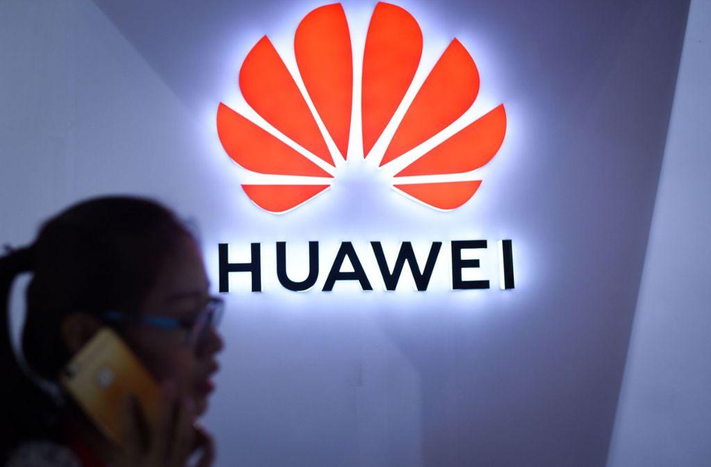 Ein Kampf der Giganten: Huawei gegen die USA Foto: AFP