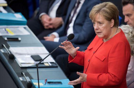 Kanzlerin Merkel ohne Selbstzweifel