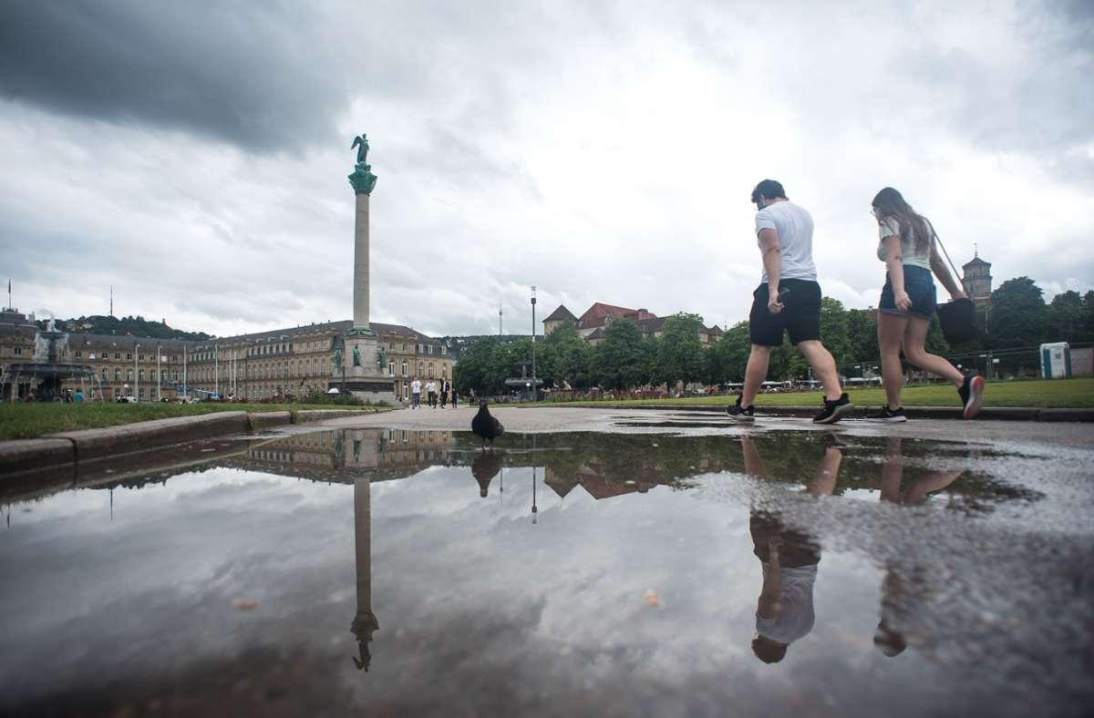 Auch Hagel und Sturmböen sind laut den Meteorologen nicht ausgeschlossen. Foto: Lichtgut/Max Kovalenko