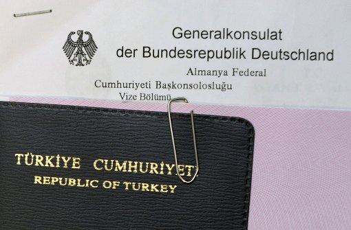 Visumfreiheit für Türken unter Vorbehalt