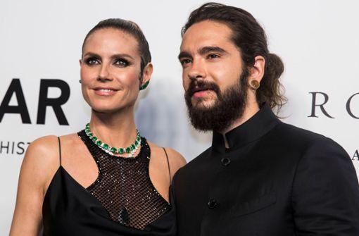 Heidi Klum und Tom Kaulitz als Osterei