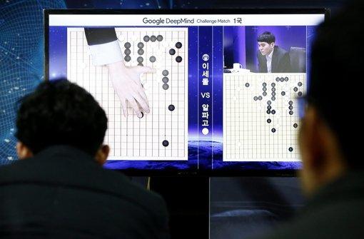 Ein Computer besiegt den weltbesten Go-Spieler