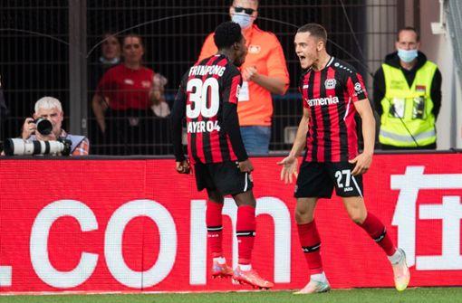 Leverkusens Jungstar holt sich mit Tor einen Bundesliga-Rekord