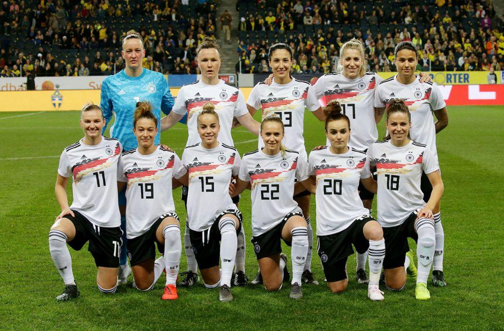 Das DFB-Team hofft auf den WM-Titel in Frankreich. Foto: Pressefoto Baumann