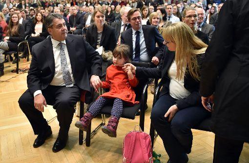 Aussenminister Sigmar Gabriel ist mit 57 Vater geworden