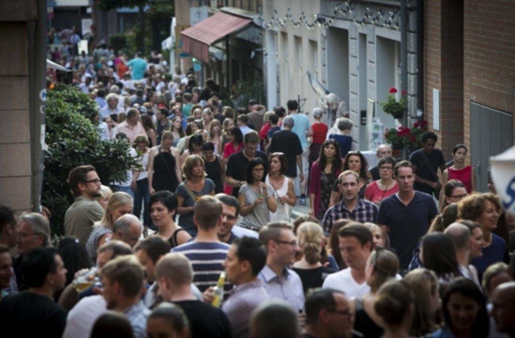 Das Bohnenviertelfest lockt die Massen an. Dieses Jahr werden aber keine Bands spielen – aus Kostengründen. Foto: Michael Steinert
