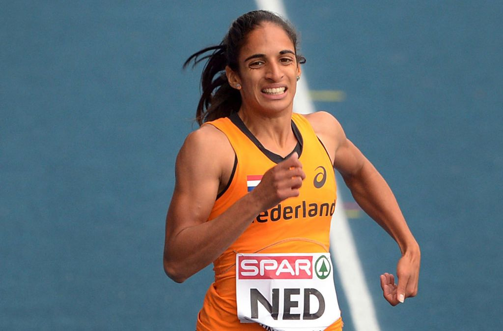 Mehr als acht Jahre muss die niederländische Sprinterin Madiea Ghafoor hinter Gitter. (Archivbild) Foto: dpa/Peter Steffen
