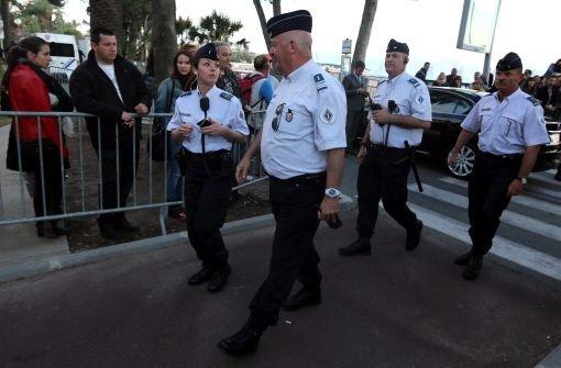 Schüsse in Cannes lösen Panik aus