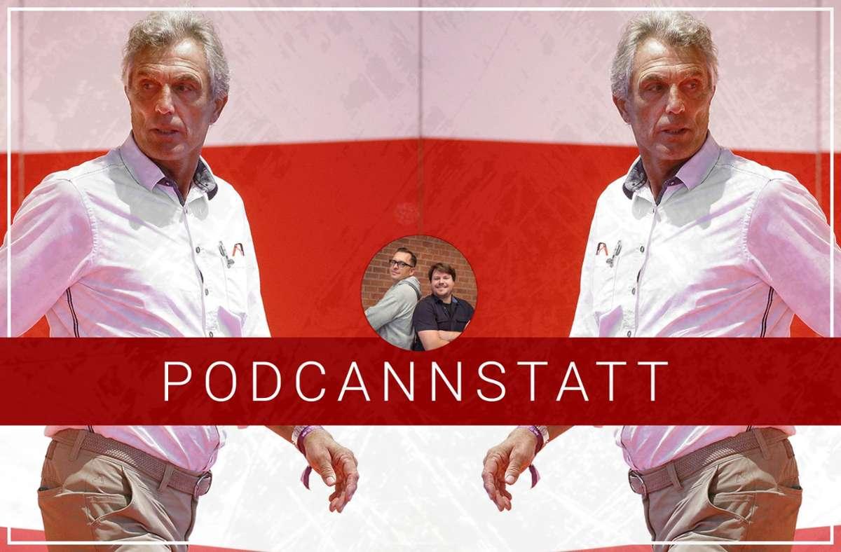 Rainer Adrion ist zu Gast im VfB-Podcast unserer Redaktion. Foto: StZN/Baumann