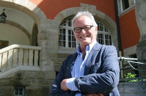 Für den Architekten Jürgen Schleicher ist Vaihingen ein Stadtbezirk der Gegensätze. Foto: Zweygarth