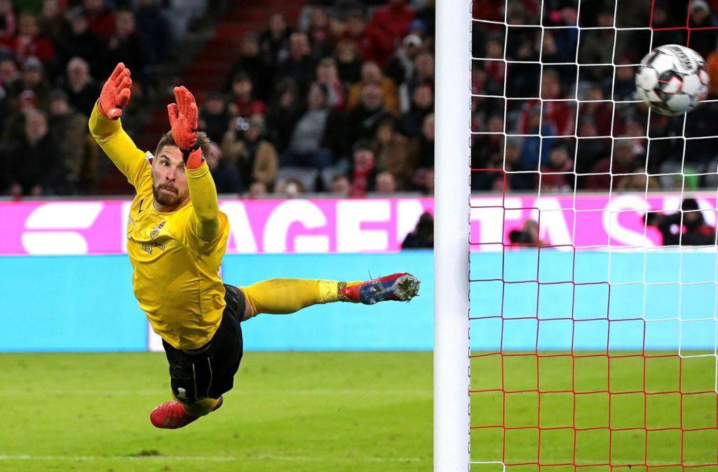 Hat alle Spiele bestritten: VfB-Torhüter Ron-Robert Zieler Foto: Baumann