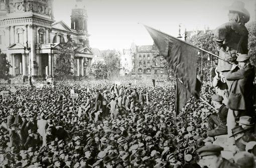 Wie Stuttgart vor 100 Jahren auf Versailles reagierte
