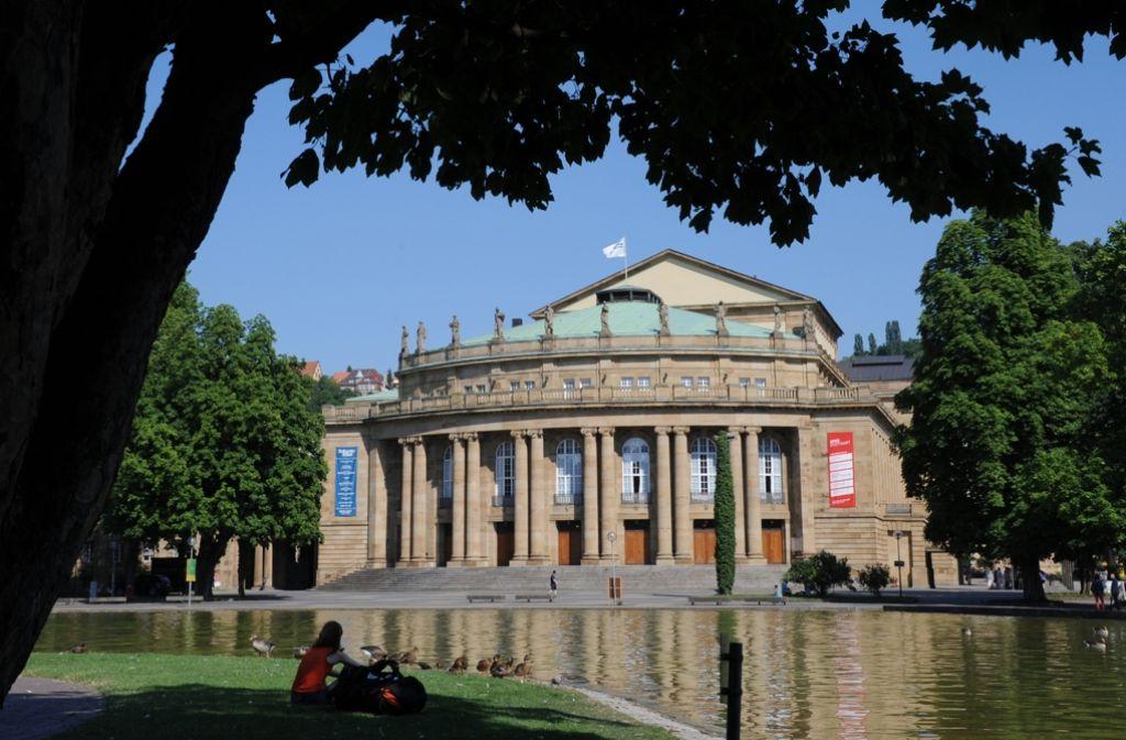 """Hier spielt die Musik: Die Stuttgarter Oper wurde von Kritikern zum """"Opernhaus des Jahres"""" gewählt. Foto: dpa"""