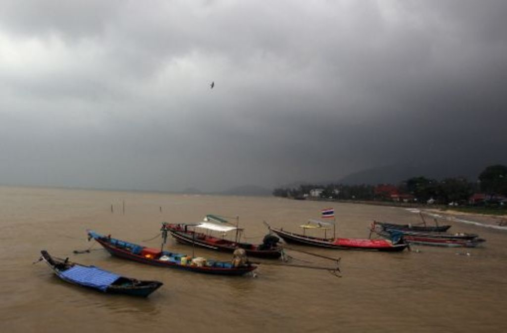 Überflutung in Koh Samui. Foto: dpa