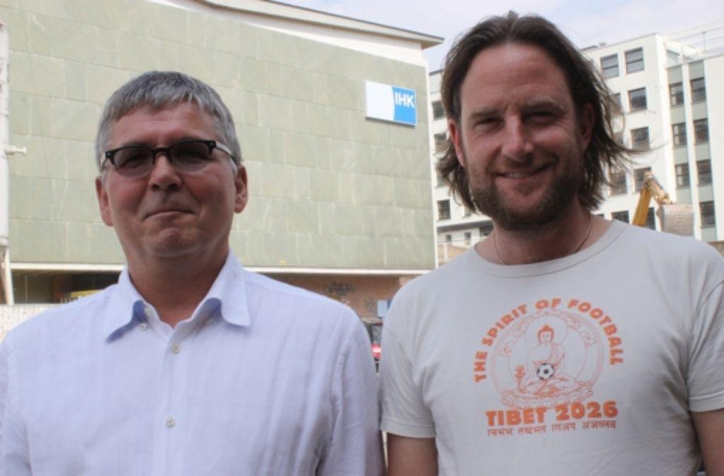 Thomas Krell (links) und Markus Koch Foto: Herschmann