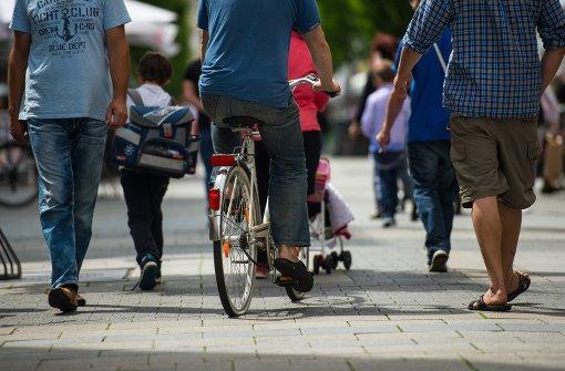 Radfahrer dürfen ihre Meinung sagen