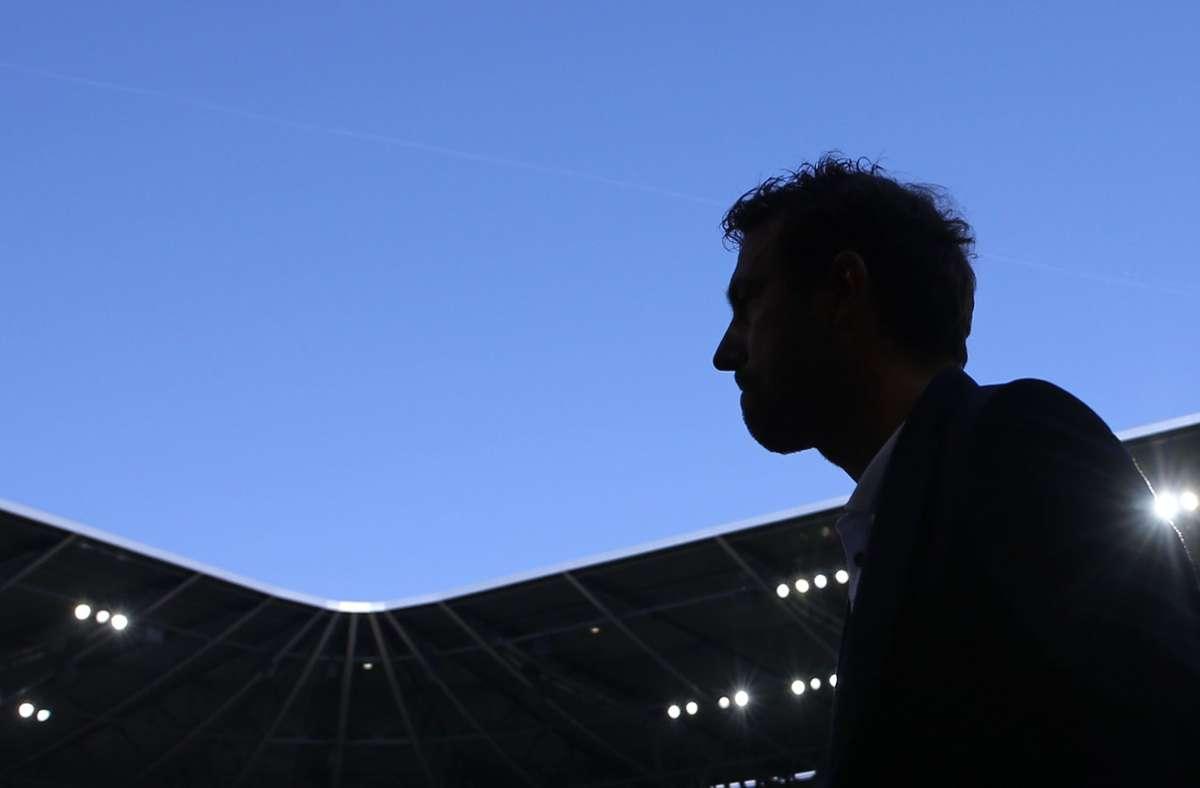 Markus Weinzierl wurde noch am selben Abend entlassen. Der VfB Stuttgart stieg am Saisonende nach verlorener Relegation ab. Foto: Pressefoto Baumann