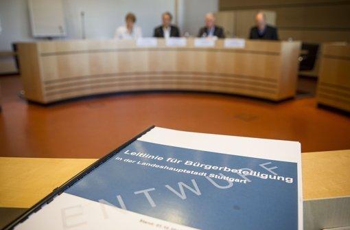 Der lange Weg zur Bürgerbeteiligung in Stuttgart