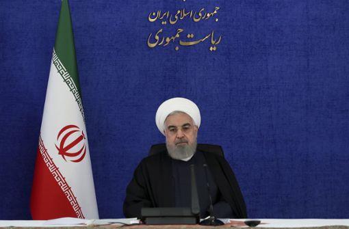 Irans Präsident: USA und Israel stecken hinter Anschlag