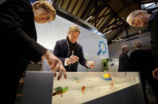 Neuer Riesen-Spielplatz für junge Wissenschaftler