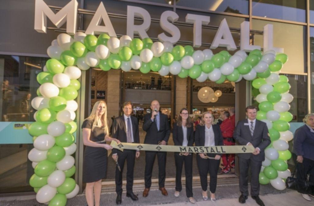 Um 8 Uhr ist das Marstall am Mittwoch eröffnet worden. Foto: factum-Weise