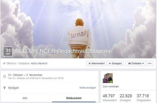 Gedächtnisschlägerei für Bud Spencer