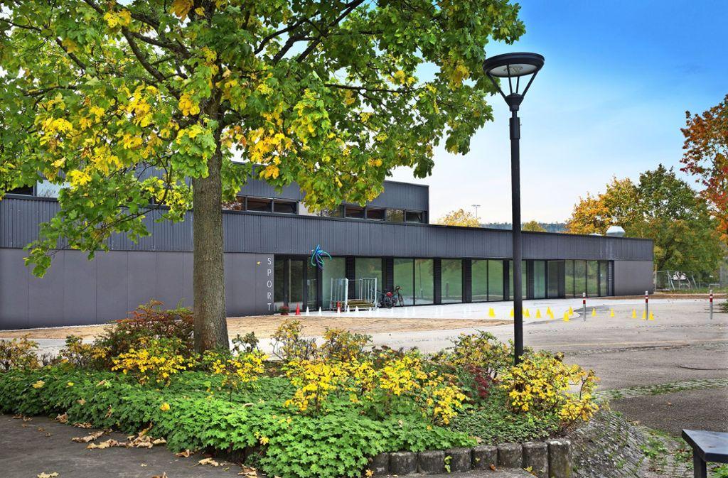 Die neue Sporthalle in Zell hat 5,5 Millionen Euro gekostet. Foto: Pressefoto Horst Rudel/Horst Rudel