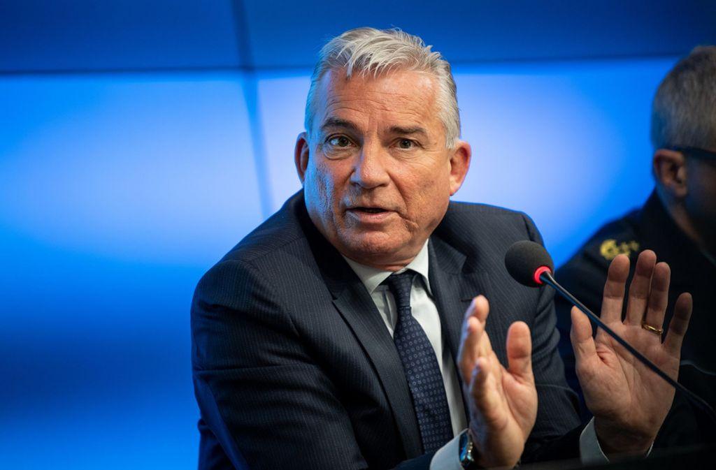 Denn die CDUhat bei der Europawahl massive Verluste eingefahren. Für den Landeschef Strobl könnte es ungemütlich werden. Foto: dpa