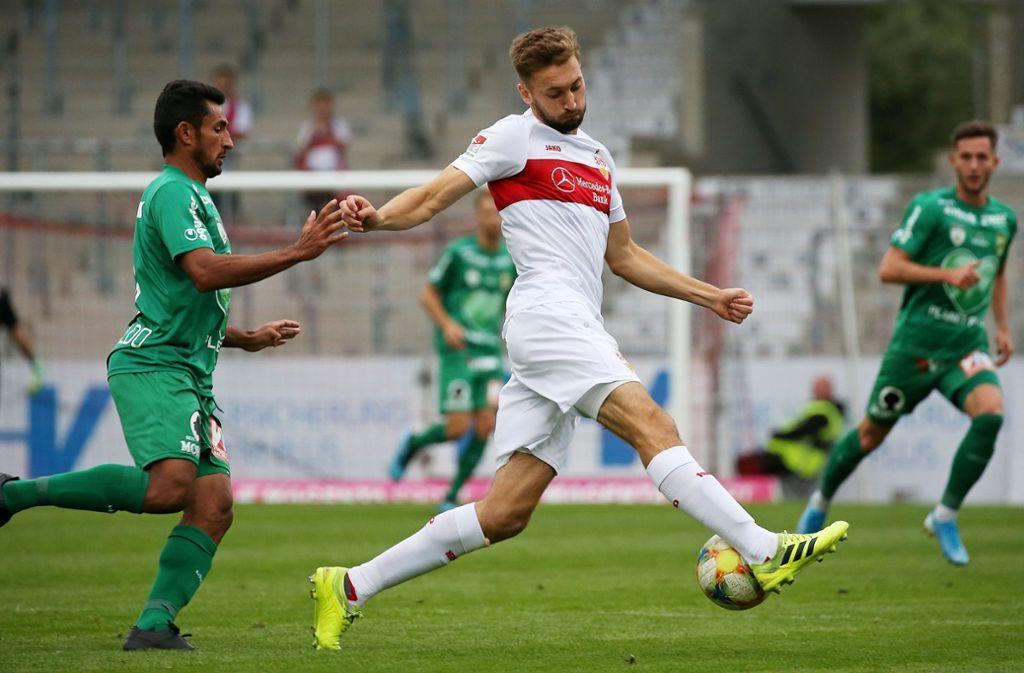 Nathaniel Phillips kehrt zum VfB Stuttgart zurück. Foto: Pressefoto Baumann/Alexander Keppler