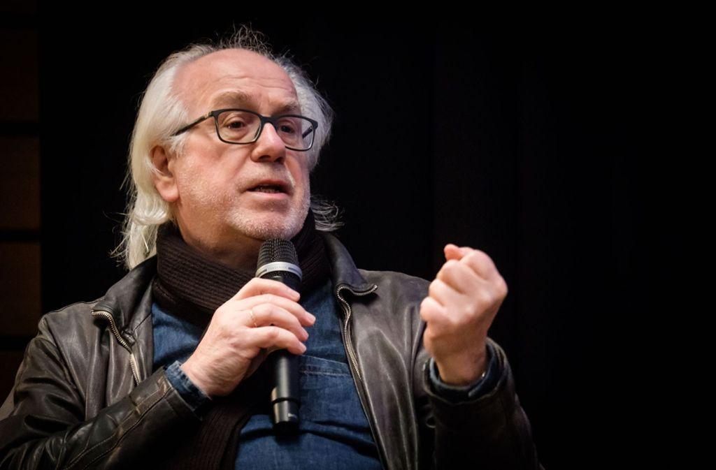 Auch mal mit Furor: Theaterhaus-Chef Werner Schretzmeier Foto: Lichtgut/Achim Zweygarth