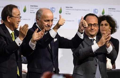 Das Abkommen zur Rettung der Erde