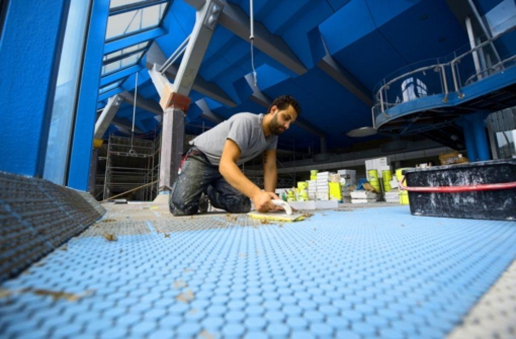 Die Pläne für ein neues Sportbad am Wasen sorgen schon jetzt für hitzige Debatten. Die Sanierung des Mineralbads Leuze löst im Nachhinein Kritik aus. Foto: Heinz Heiss