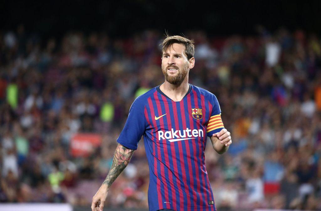 Lionel Messi und Kollegen kommen dem Verein nun doch entgegen. Foto: dpa/Joan Valls