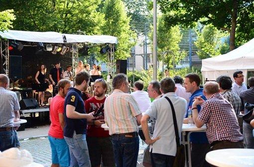 Das Bohnenviertelfest lockt unzählige Besucher an