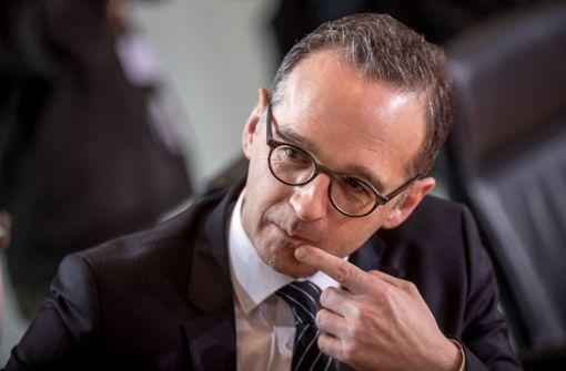 Maas soll neuer Außenminister werden