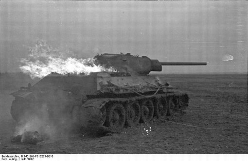 Der Tod unter Panzerketten