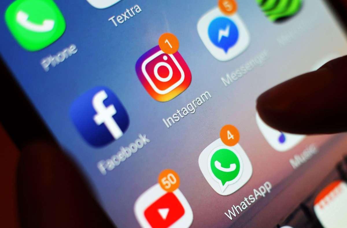 Facebook ein Monopol im Markt für soziale Netzwerke. (Symbolbild) Foto: dpa/Yui Mok