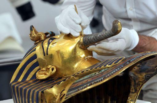 Tutanchamuns Sarg wird restauriert