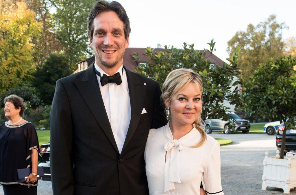 Gehen fortan getrennte Wege: Björn Graf Bernadotte und Sandra Gräfin Bernadotte. Foto: dpa