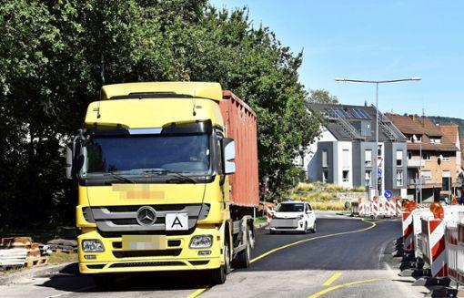 Kampf gegen Lkw-Durchfahrtsverkehr