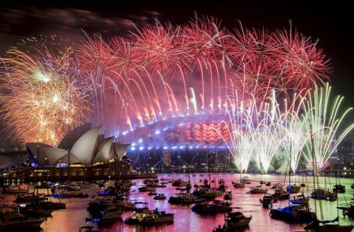 Sydney begrüßt das falsche Jahr