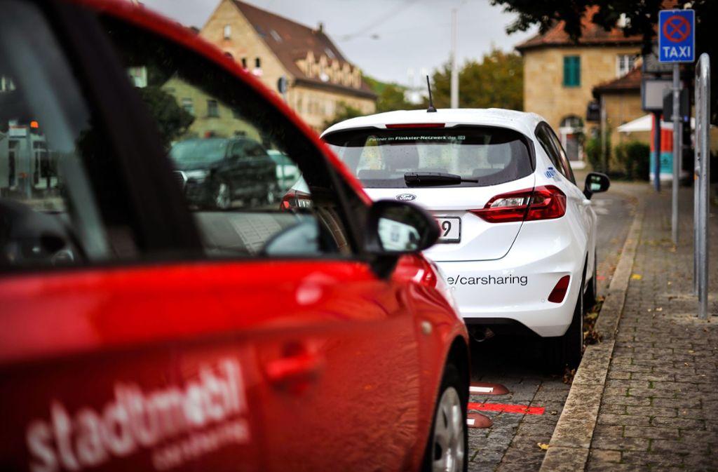 Die Buchungszahlen sind bei Carsharing-Unternehmen im März stark eingebrochen. Foto: Lichtgut/Max Kovalenko