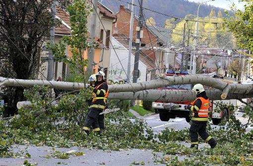 Vier Tote durch Sturmtief in Tschechien und Polen
