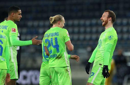 VfL Wolfsburg marschiert weiter Richtung Champions League